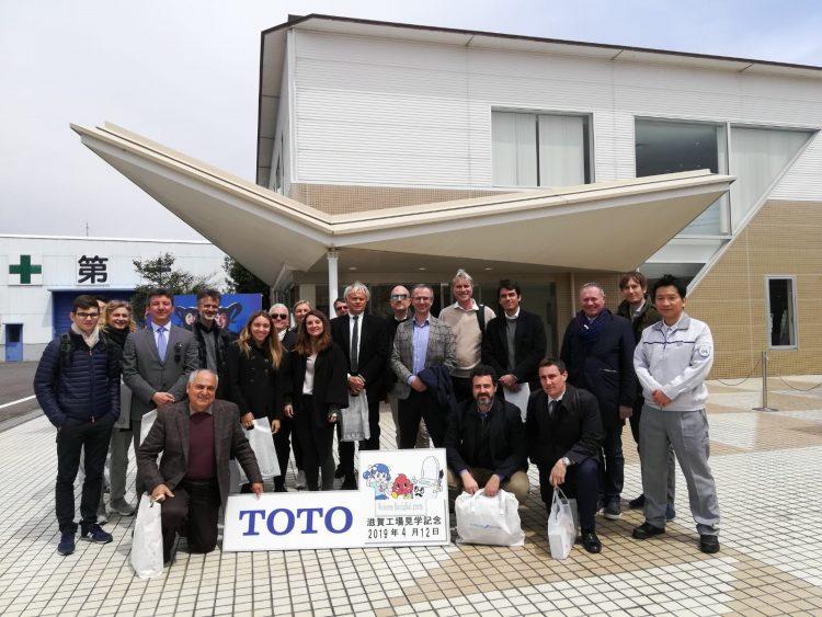 Toto plant tour